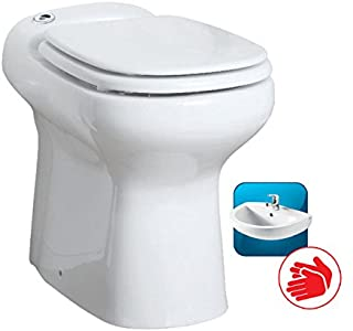 wolketon 3//1 Triturador Sistema De Elevaci/ón 600W Bomba De Agua De Aguas Residuales WC Bomba Dom/éstica De Elevaci/ón De Aguas Residuales Inodoro