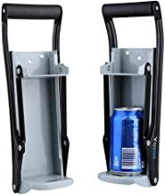 aplastadora de latas de cerveza Trituradora de latas de metal de 16 oz montado en la pared herramienta de reciclaje y trituraci/ón lata dispensadora casera encimera